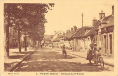 Premery Faubourg Saint Nicolas (cliché pas courant - Prémery