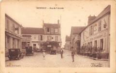 Mennecy Rue De L'Arcade (cliché pas courant - Mennecy