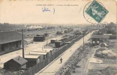 Conflans Jarny La Gare Aux Marchandises - Jarny