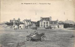 Tregastel Terrasse De La Plage (Belle Cpa Pas Courante - Trégastel