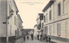 Sauveterre De Guyenne Rue Lafon (belle cpa animée - Sauveterre-de-Guyenne