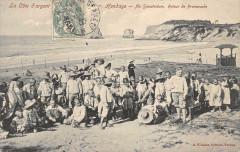 Hendaye Au Sanatorium Retour De Promenade - Hendaye