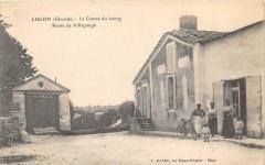 Lugon Le Centre Du Bourg Route De Villegouge (animée - Bourg
