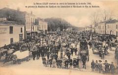 La Maison Lillet Recevant Un Convoi De Sauternes De La Recolte 1903 Vins - Sauternes