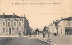 Grignols Caserne De Gendarmerie Avenue Des Landes - Grignols