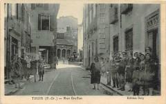 Thuir Rue Graffan (cpa cliché rare éditeur rare - Thuir