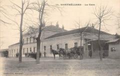 Montbeliard La Gare (cliché pas courant - Montbéliard