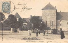 Chateaumeillant Le Chateau (dos non divisé) - Châteaumeillant