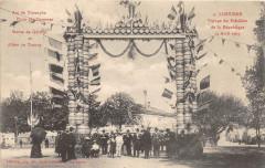 Libourne Voyage Du President De La Republique 24 Avril 1905 Arc Triomphe - Libourne