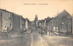 Beaumont En Argonne La Grande Rue (pas courante - Beaumont-en-Argonne