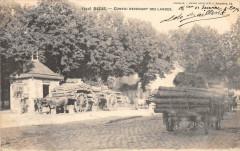 Bazas Convoi Rentrant Des Landes (dos non divisé) - Bazas