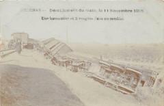 Pezenas Deraillement Du Train 11 Nov 1906 Une Locomotive Et 3 Wagons Dans - Pézenas