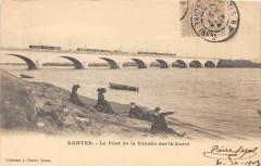 Nantes Le Pont De La Vendee Sur La Loire (dos non divisé - Nantes