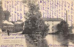 Auxerre Le Moulin Du Batardeau Pont Du Chemin De Fer De Gien (dos non div - Auxerre