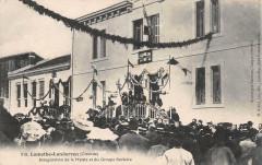 Lamothe Landerron Inauguration De La Mairie Et Du Groupe Scolaire (belle - Lamothe-Landerron
