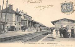 Clermont  La Gare Vue Interieure - Clermont