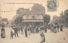 Villemomble Avenue D'Outrebon Et Du Raincy (dos non divisé) - Villemomble