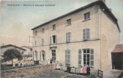 Solaize Mairie Groupe Scolaire  (pas courante - Solaize