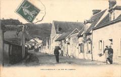 Ivry La Bataille La Rue De L'Abbaye (dos non divisé) - Ivry-la-Bataille