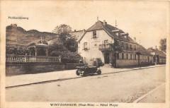 Wintzenheim Hotel Meyer (voiture - Wintzenheim