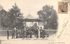 Libourne Kiosque Du Jardin Public  (dos non divisé) - Libourne