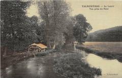 Talmontiers Le Lavoir (cpa toilée émaillée - Talmontiers