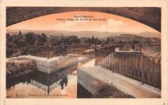 Montbrison Canal Du Forez Voie Feree (cliché pas courant - Montbrison