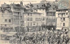 Tulle Place D'Arches Marche (dos non divisé) - Tulle