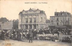 Saint Brieuc Le Theatre (marché - Saint-Brieuc