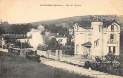 Hauterives Villa Des Glycines (Train Dans La Rue - Hauterives