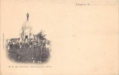 Langres Notre Dame Des Fourches Inauguration (dos non divisé) - Langres