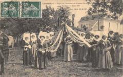 Compiegne Fetes En L'Honneur De Jeanne D'Arc 1911 La Mai Fleuri (cliché p - Compiègne