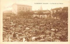 Saint Rambert D'Albon Le Marche Aux Peches - Albon