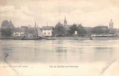 Vue De Cadillac Sur Garonne - Cadillac