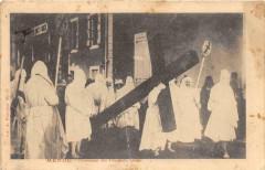 Mende Procession Des Penitents Blancs (dos non divisé) - Mende