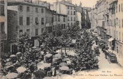 Macon Place Aux Herbes Le Marche - Mâcon