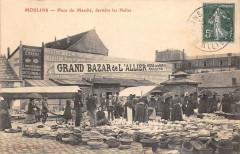 Moulins Place Du Marche Derriere Les Halles - Moulins