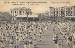 Clermont Ferrand XXXIIIe Fete Federale De Gymnastique Mouvements D'Ensemb - Clermont-Ferrand