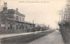 Chatou La Gare De Chatou Croissy - Chatou