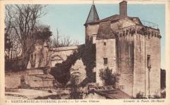 Sainte Maure De Touraine Le Vieux Chateau (pas courante - Sainte-Maure-de-Touraine