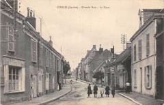 Conlie Grande Rue La Poste - Conlie