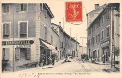 Francheville Le Bas La Grande Rue - Francheville