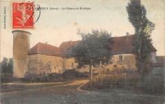 Ambierle Le Chateau De Rouileres (cliché colorisé - Ambierle