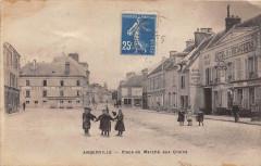 Angerville Place Du Marche Aux Grains - Angerville