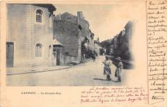 Lagnieu La Grande Rue (dos non divisé) Pas Courante - Lagnieu