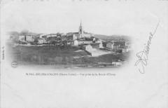 Saint Pal De Chalencon Vue Prise De La Route D'Usson (dos non divisé) - Saint-Pal-de-Chalencon