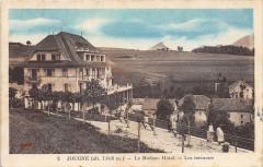 Jougne Le Modern Hotel Les Terrasses (cliché colorisé - Jougne