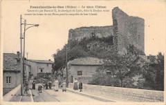 Francheville Le Bas Le Vieux Chateau (cliché pas courant - Francheville