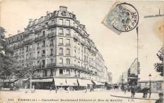 Paris XIIe Carrefour Diderot Et Rue De Reuilly - Paris 12e