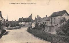 Clemont Entree Du Pays Et Place Boyer - Clémont
